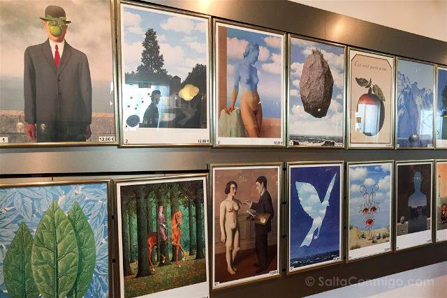 Belgica-Bruselas-Magritte-Museo-Tienda