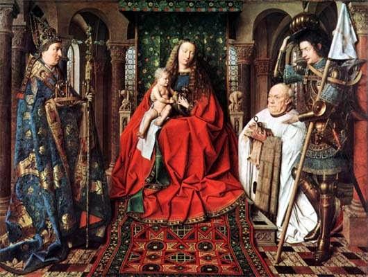 VAN EYCK_Virgen del canonigo Van Der PaeleG